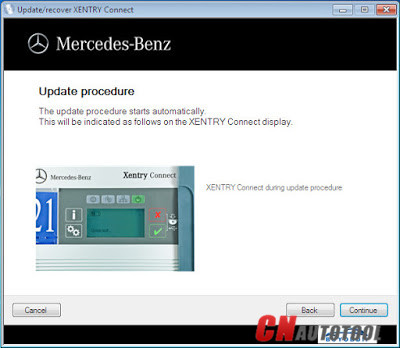 How to recoverreset MB SD Connect C5 step-by-step